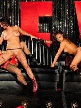 Kaylani Lei in 4some lesbian action from Wicked Pictures
