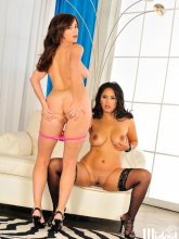 Taylor Vixen and Jessica Bangkok in action from Wicked Pictures