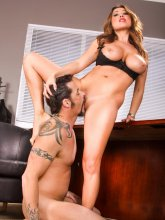 Kianna Dior likes pussy and ass licking from evilangel