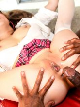 Mia Rider in hot interracial action from evilangel
